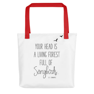 "EE Cummings "" Living Forest"" Quote 