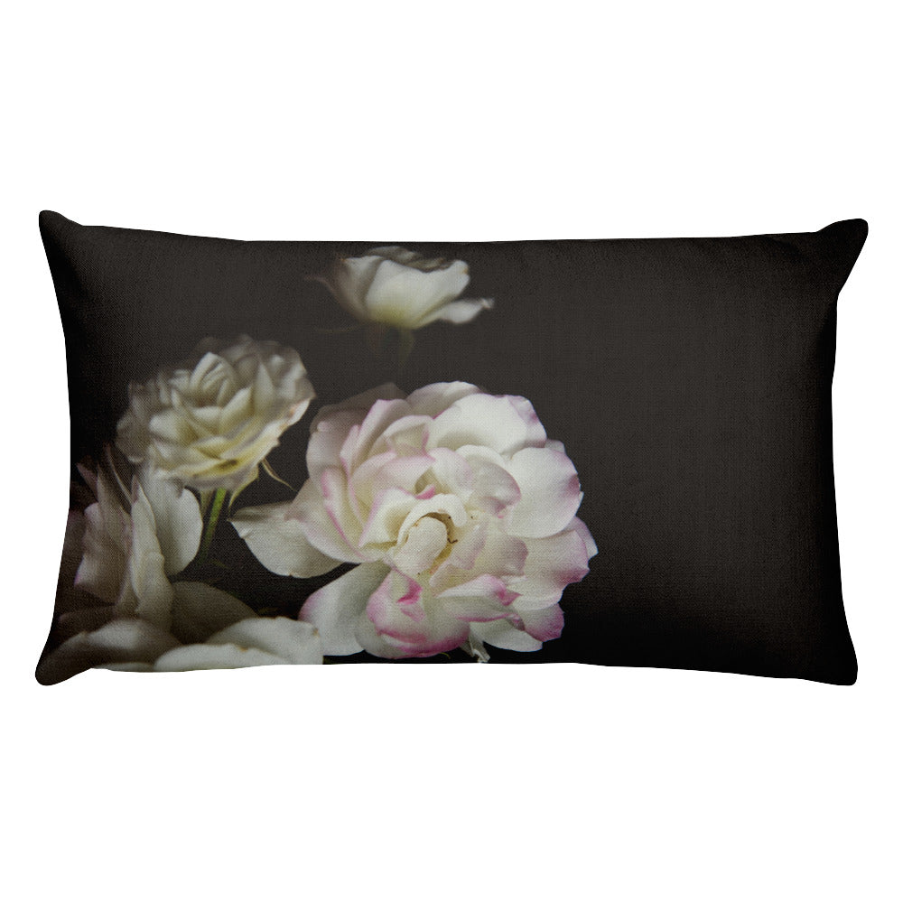 Rose Bouquet | Rectangular 20x12 Decorative Pillow