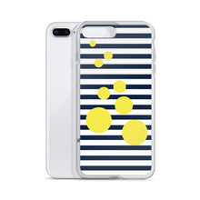 Summer Pop | Midnight + Yellow iPhone Case
