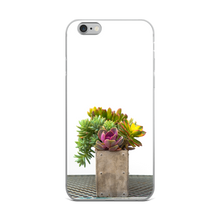 Succulents on Metal Table | iPhone Case (All Sizes)