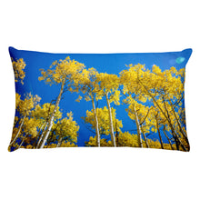 Look Up Blue Skies (Aspen, Colorado) | 20x12 Rectangular Pillow with Insert