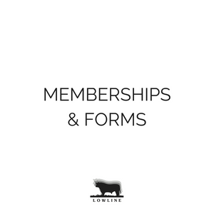 Memberships & Forms