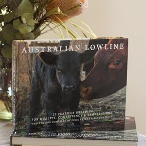 Australian Lowline 25th Anniversary Commemorative Book
