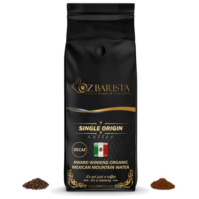 Award-Winning Organic Mexican Mountain Water Processed DECAF - OzBarista.com