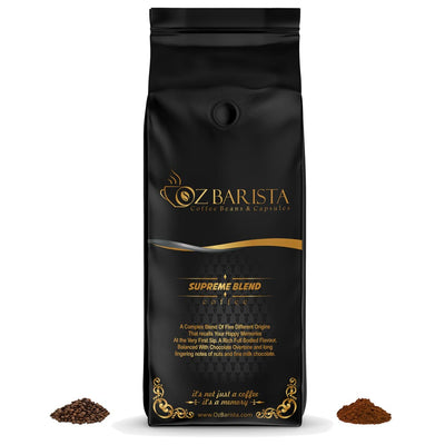 OzBarista's Supreme Blend Medium Roast Coffee - OzBarista.com