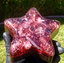 "The ""Orgone Star Kachina"" 💫 Small Charging Plate/Coaster"