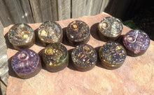 "9-pack of ""Microcosmic TowerBusters"" -Coiled Quartz, Kyanite, Garnet, Selenite, Tourmalines, Quartz Sand + MMSSO matrix"