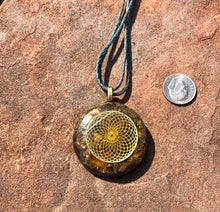 "The ""Sun Disc"" Orgone Amulet☀️- Auric Field Protection"