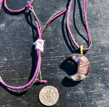 "The ""Small Crescent Luna"" Orgone Amulet 🌙 - Aura Protection"