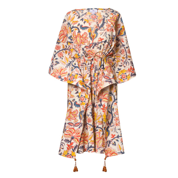 Angela Encore Midi Kaftan Dress
