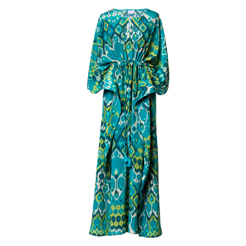 Acqua Vita Silk Maxi Dress