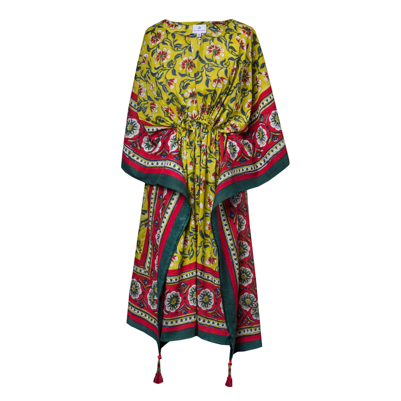 Camomilla Midi Kaftan Dress