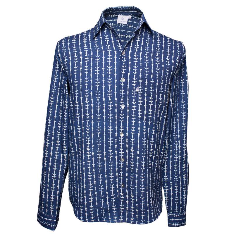 Denzil Long Sleeve Men's Button Up Shirt