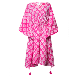 Fanfare Midi Kaftan Dress