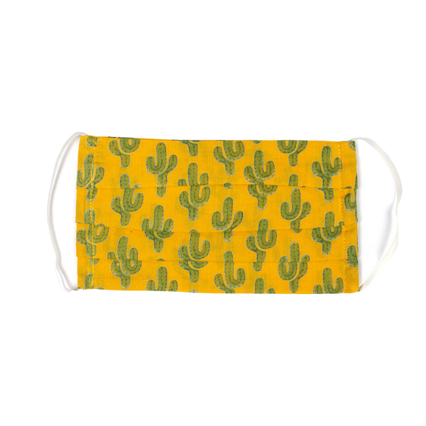 Marigold Prickly Pax Cactus Mask On Back Order 7-14 days