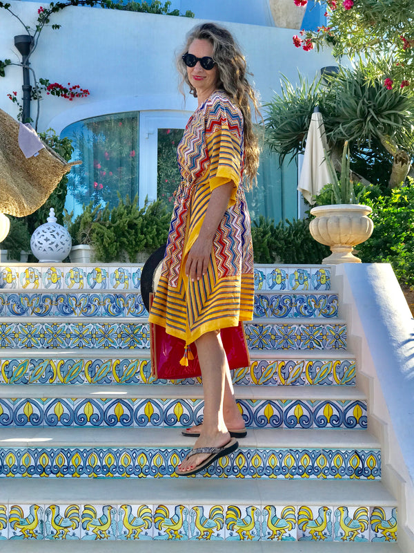 Nizhoni Midi Kaftan Dress