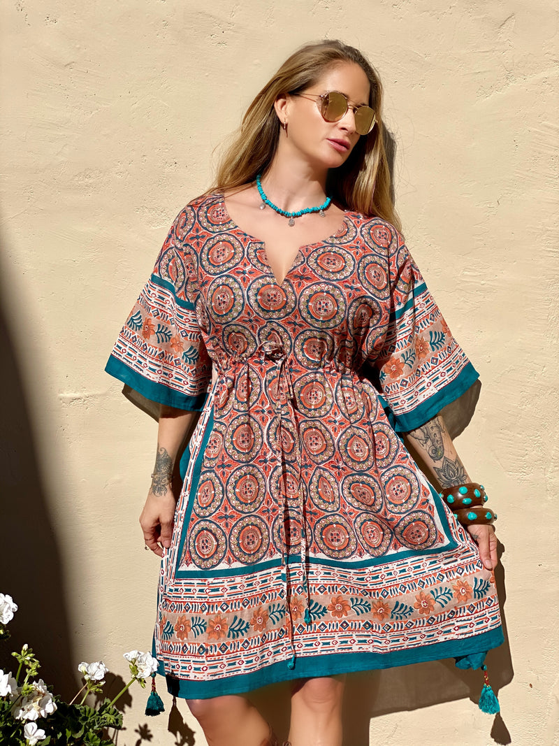 Arizona Midi Kaftan Dress