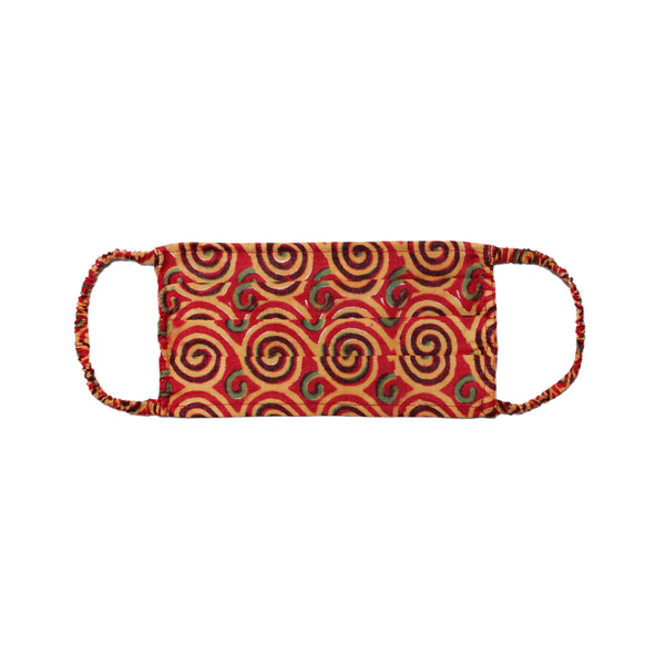 Ruby Red Klimt Mask