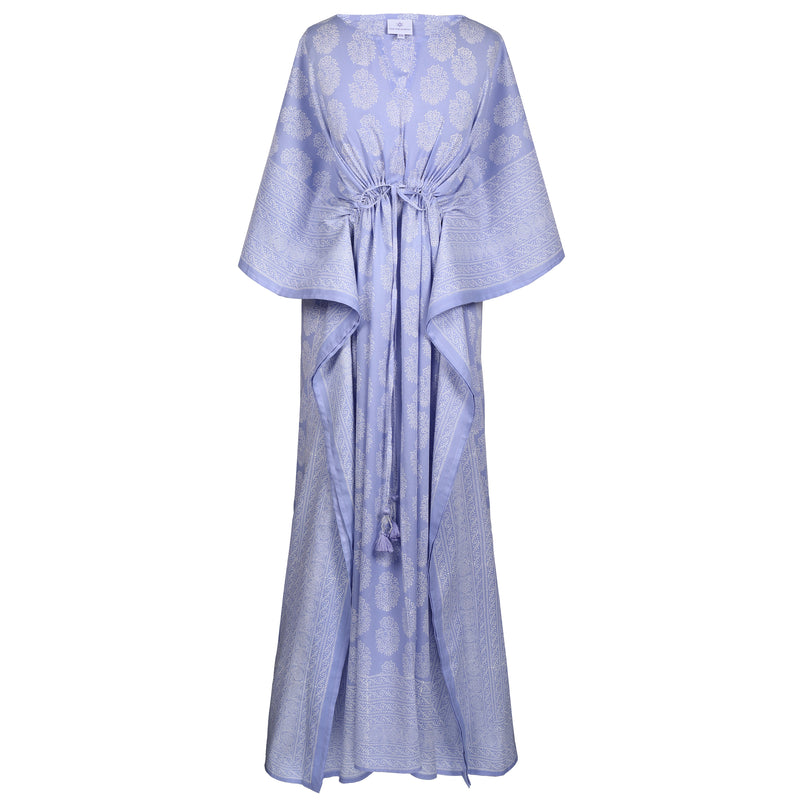 Lilac Amer Maxi Kaftan Dress Pre-Order Now Shipping in 1-2 weeks