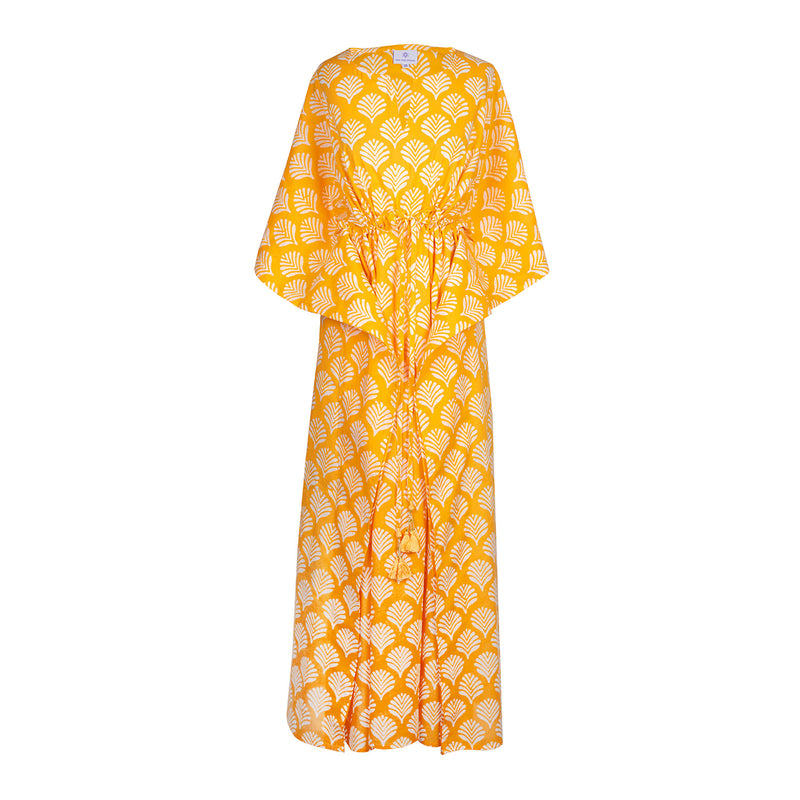 Limoncello Maxi Kaftan Dress