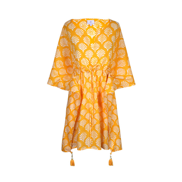 Limoncello Short Kaftan Dress (NEW!!!)