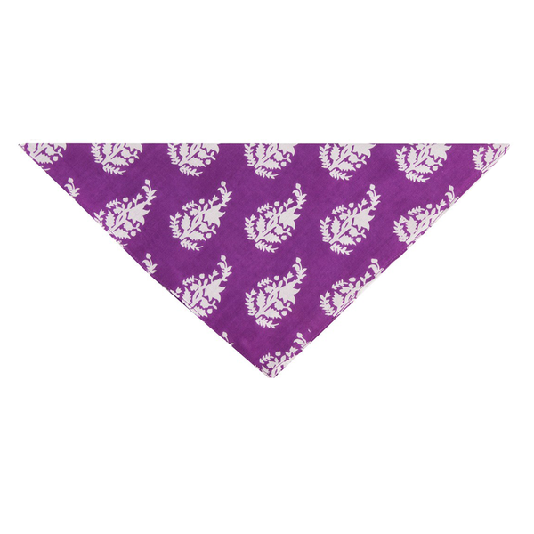 Luisa Purple Bandana