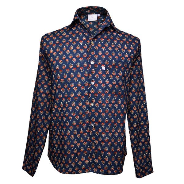 Maximillian Long Sleeve Men's Button Up Shirt