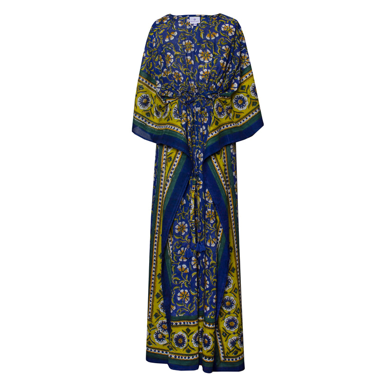 Morning Glory Maxi Kaftan Dress Back Ordered 3-5 weeks