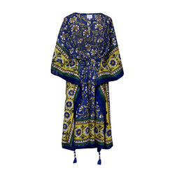 Morning Glory Midi Kaftan Dress
