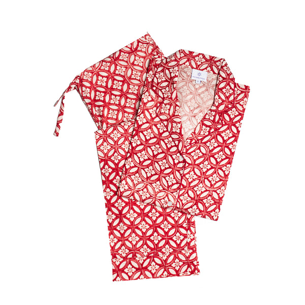 Nina Rossa Long Sleeve Pajamas