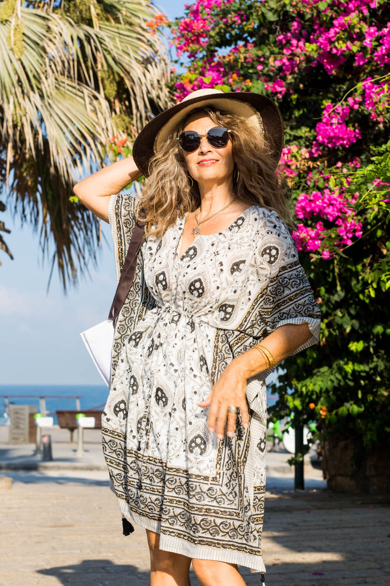 Patti Midi Kaftan Dress