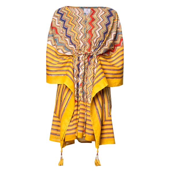 Nizhoni Short Kaftan Dress