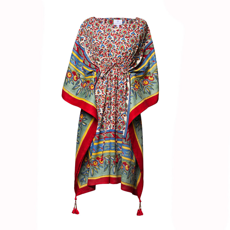 Paradise Midi Kaftan Dress ON BACK ORDER 2-4 WEEKS