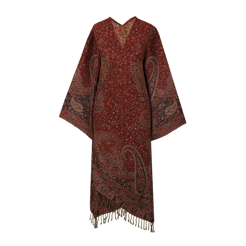 Persian Paisley Reversible Kimono Coat ONE OF A KIND