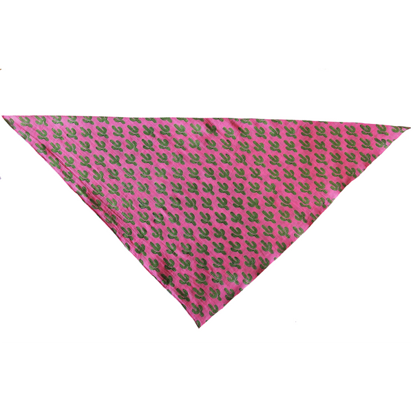 Prickly Pax Pink Cactus Scarf ONE LEFT