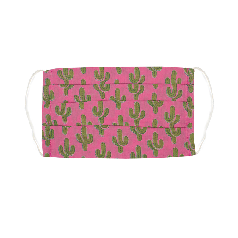 Pink Prickly Pax Cactus Mask