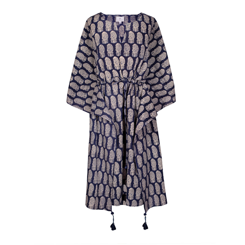Rambagh Midi Kaftan Dress