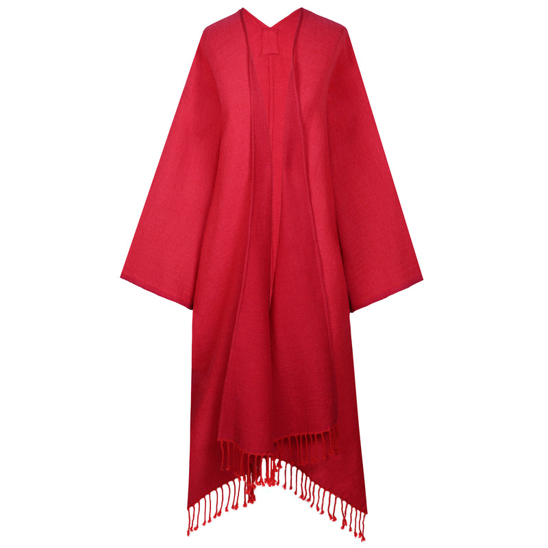 Rosso/Rosa Reversible Kimono Coat ONE OF A KIND