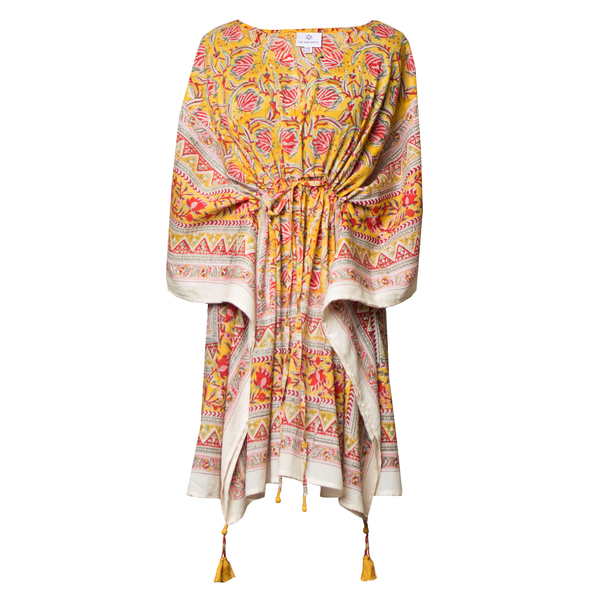 Sedona Short Kaftan Mini Dress BACK IN STOCK