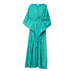 Sheba Turquoise Maxi Kaftan Dress ONLY ONE LEFT