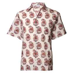 Zanino Short Sleeve Men's Button Up Shirt