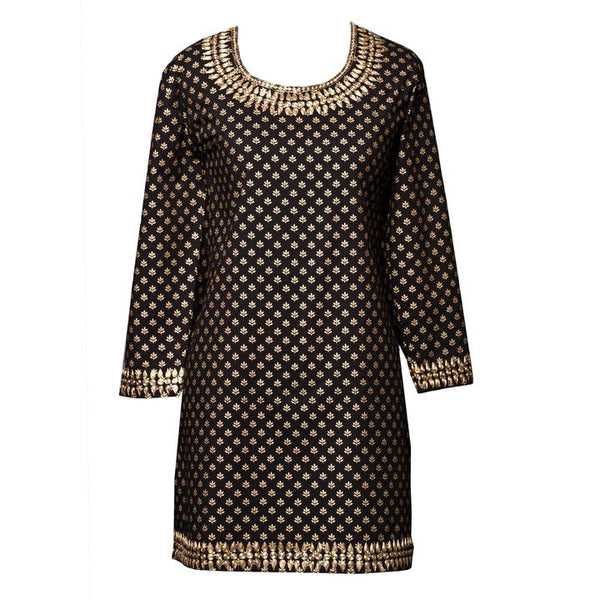 Diana Metallic Tunic  ONLY SMALL AVAILABLE