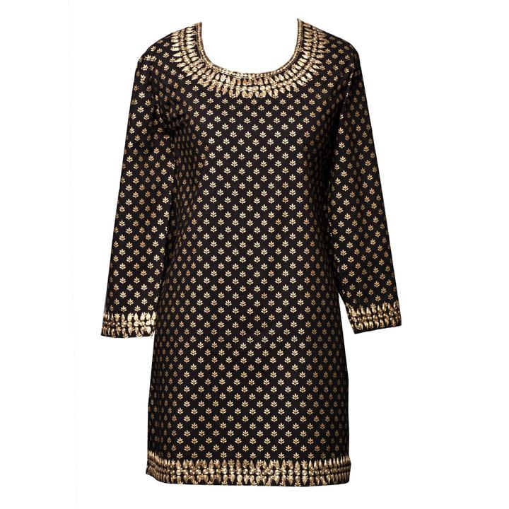 Diana Metallic Tunic