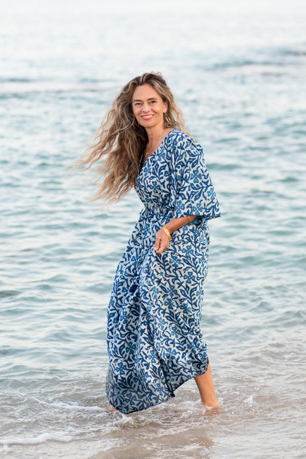Isadora Maxi Dress As seen in O'Oprah Magazine PRE-ORDER  Ship date 01/31/21