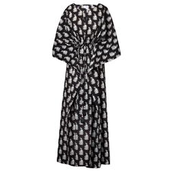 Luisa Obsidian Maxi Kaftan Dress