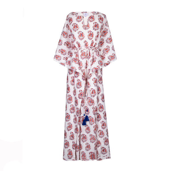 Zanino Maxi Kaftan Dress 25% off discount applied at checkout