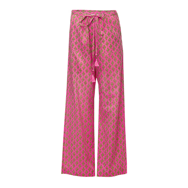 Pink Prickly Pax Cotton Lounge Pants