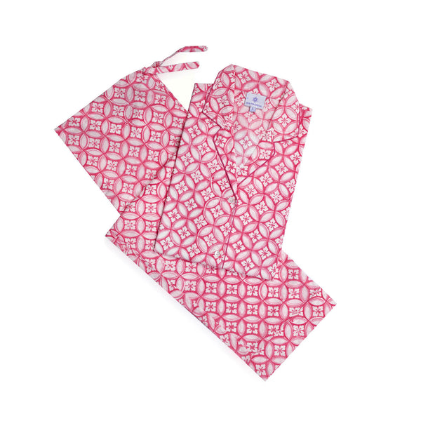 Nina Pink Pajamas 25% off discount applied at checkout