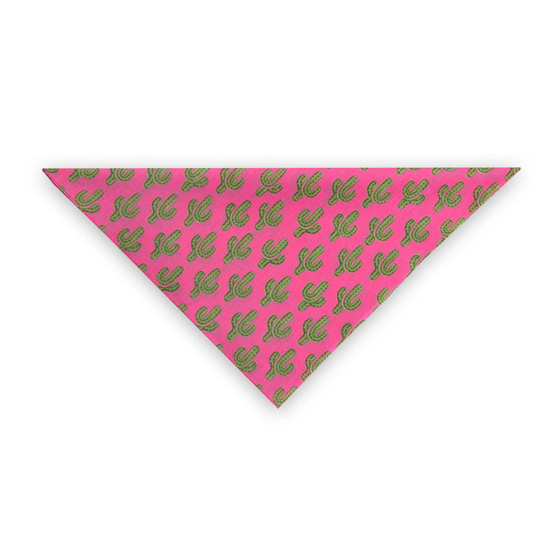 Prickly Pax Pink Cactus Bandana  25% off applied at checkout As Seen On the ZOE REPORT