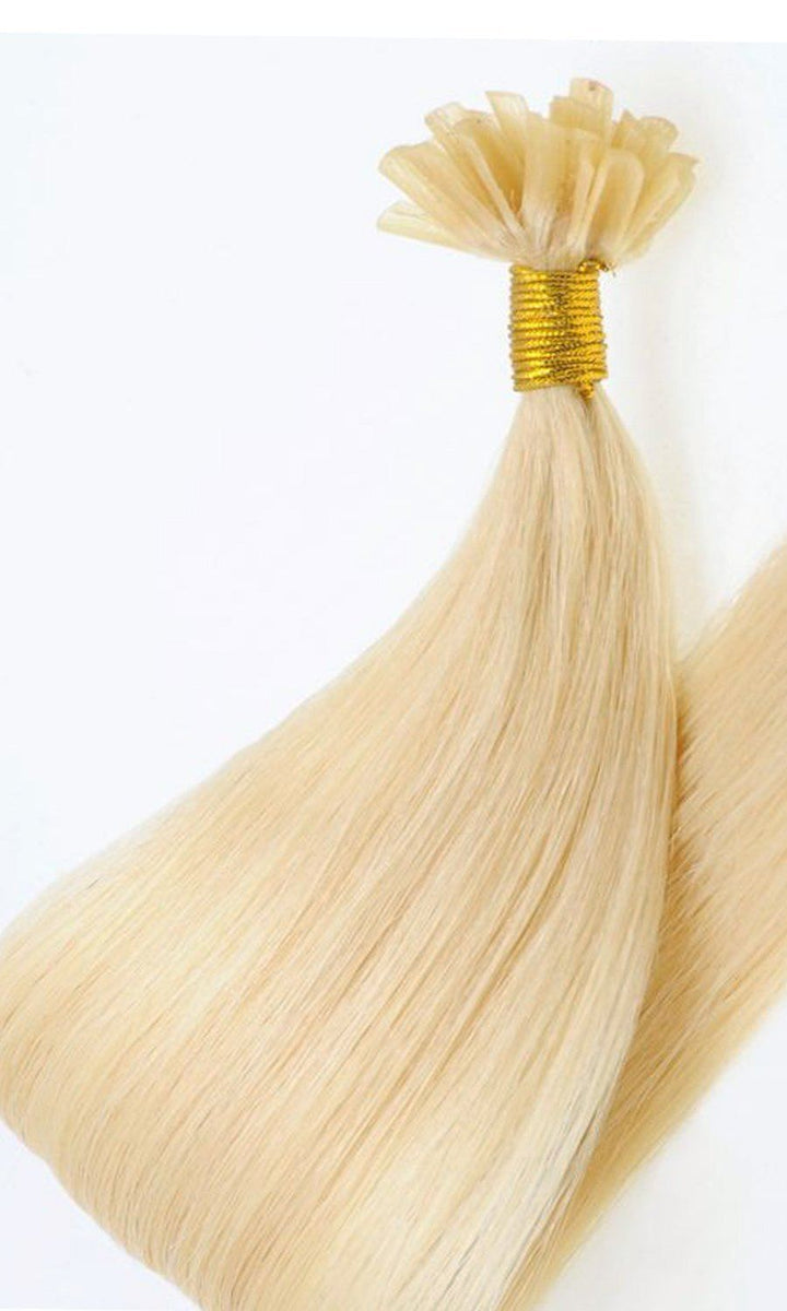 Goldblond Keratin Bondings Hair Extensions